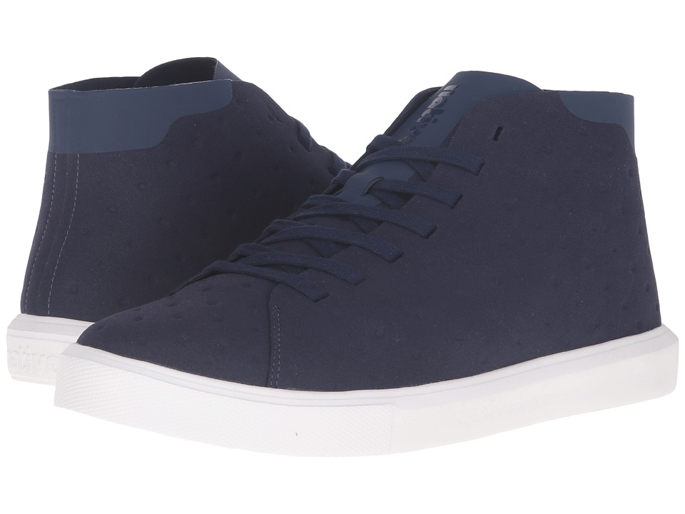 Native Shoes - Monaco Mid (Regatta Blue/Shell White) Lace up casual Shoes