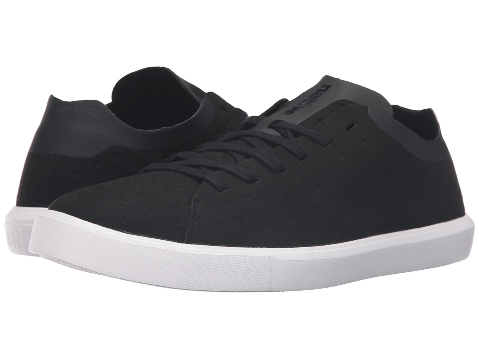 Native Shoes - Monaco Low (Jiffy Black/Shell White) Lace up casual Shoes