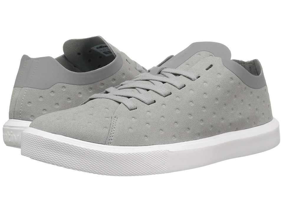 Native Shoes - Monaco Low (Pigeon Grey/Shell White) Lace up casual Shoes