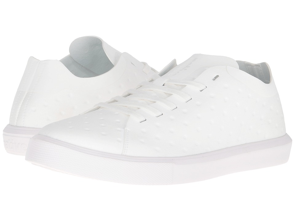 Native Shoes Monaco Low (Shell White/Shell White) Lace up casual Shoes