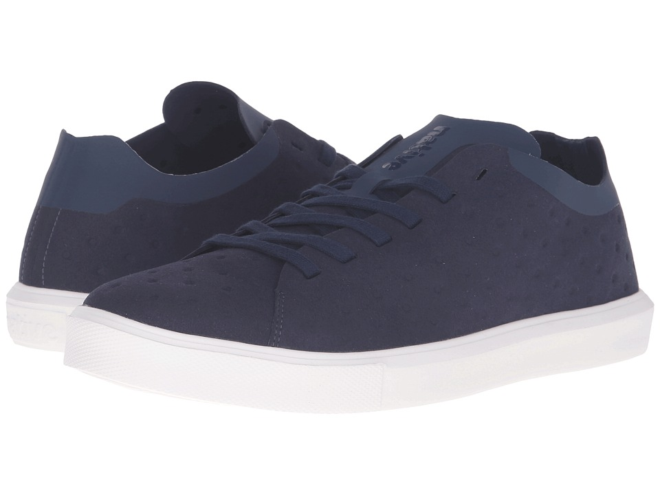 Native Shoes - Monaco Low (Regatta Blue/Shell White) Lace up casual Shoes