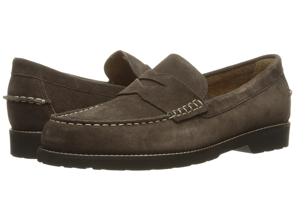 Rockport - Classic Move Penny (Dark Bitter Chocolate Suede) Men's Shoes