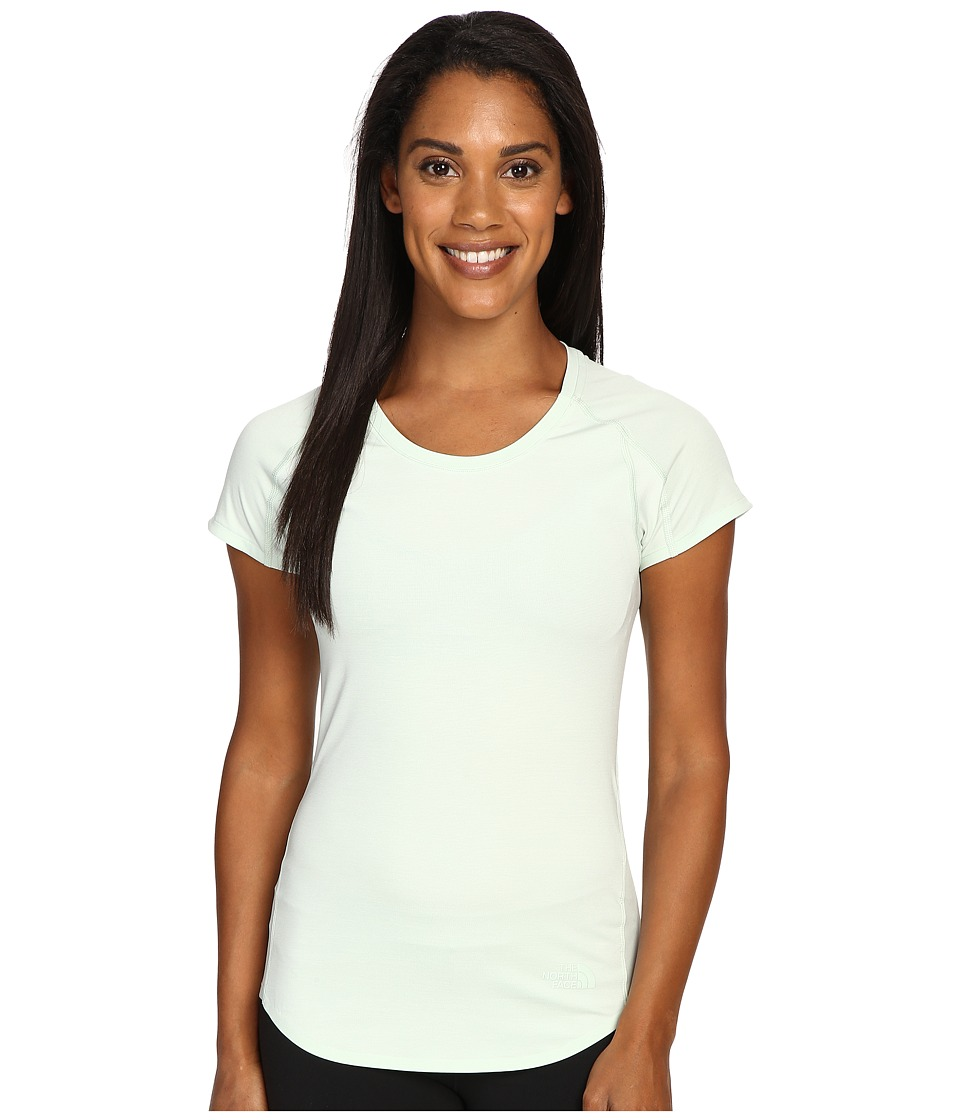 The North Face - Dynamix Short Sleeve (Subtle Green Heather/Subtle Green) Women's Short Sleeve Pullover