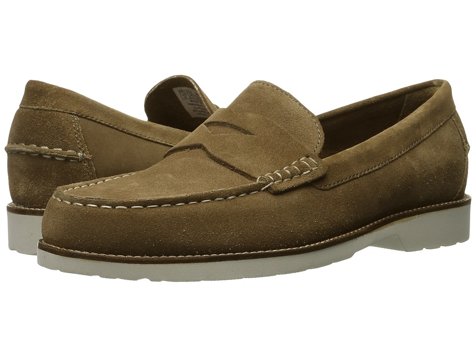 Rockport Classic Move Penny (New Vicuna Suede) Men