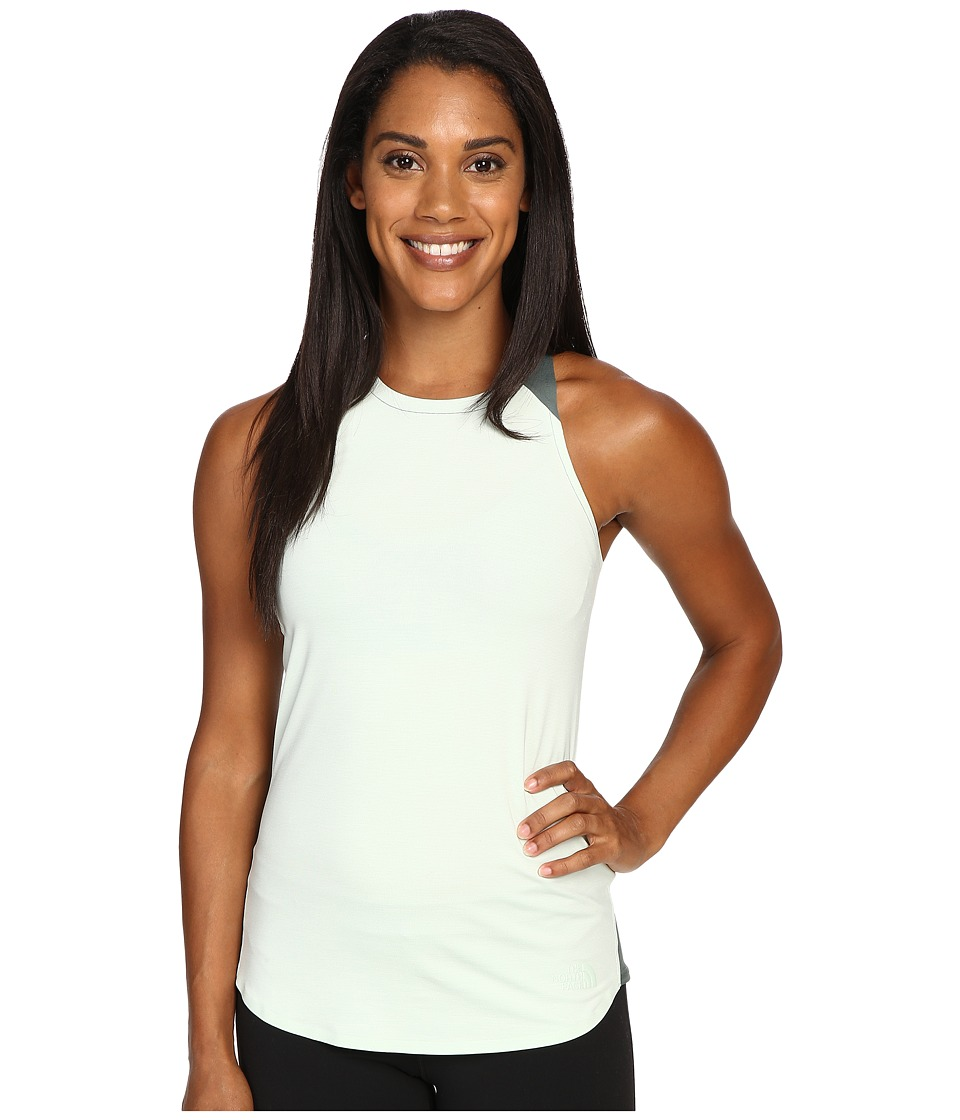 The North Face - Dynamix Tank Top (Subtle Green Heather/Balsam Green) Women's Sleeveless