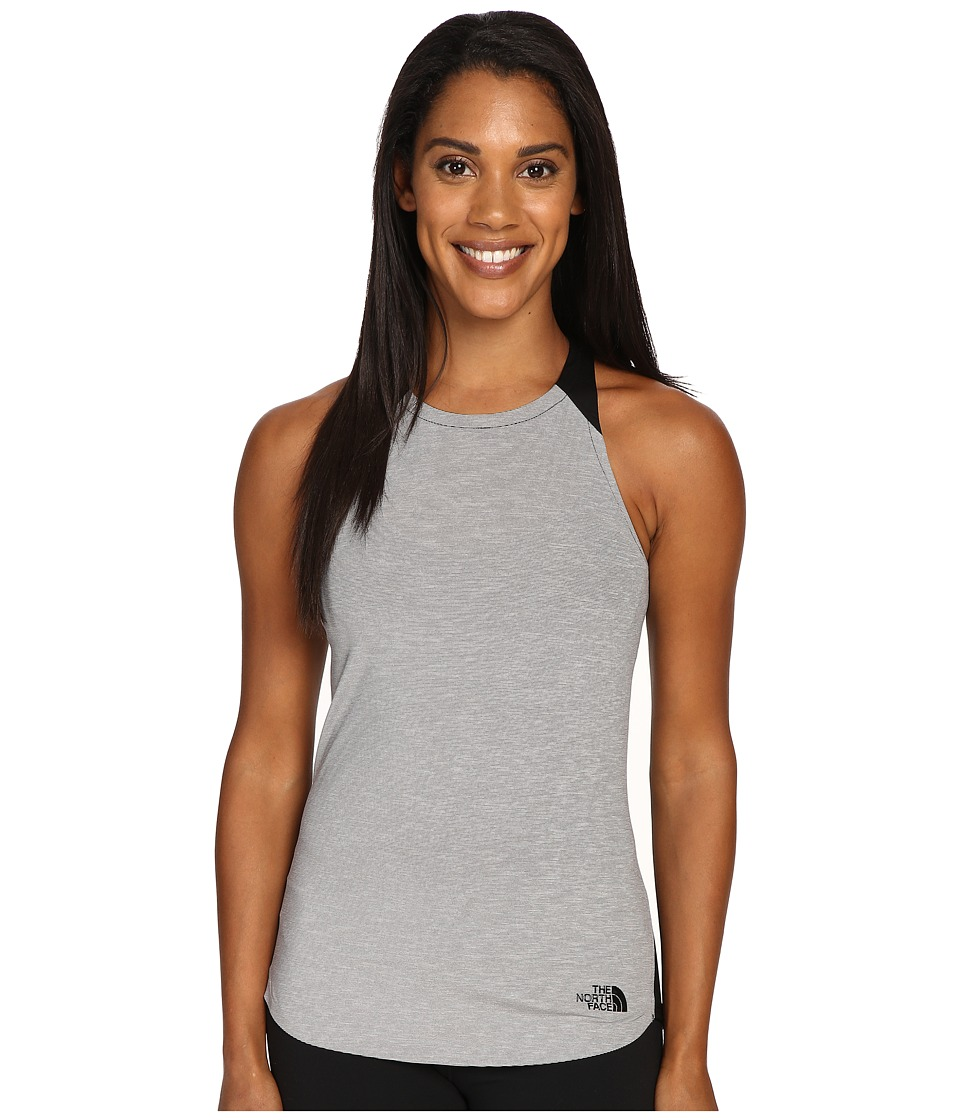 The North Face - Dynamix Tank Top (TNF Dark Grey Heather/TNF Black (Prior Season)) Women's Sleeveless