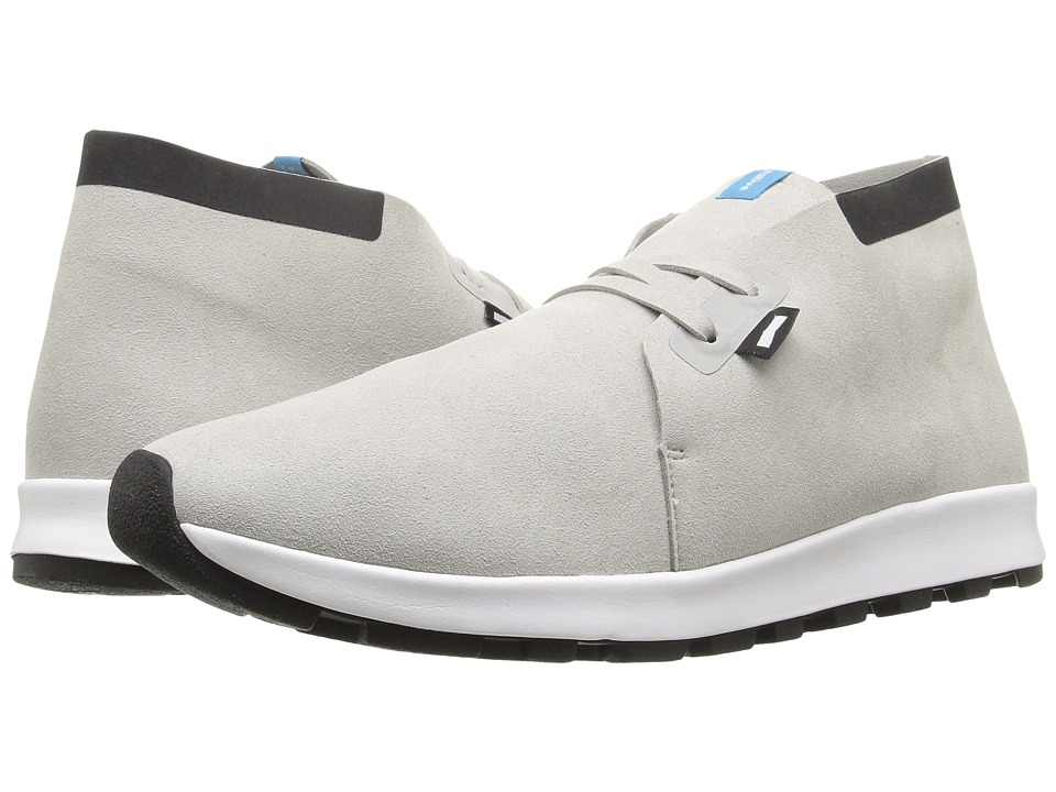 Native Shoes - Apollo Chukka Hydro (Pigeon Grey/Jiffy Black/Shell White/Jiffy Rubber) Lace up casual Shoes