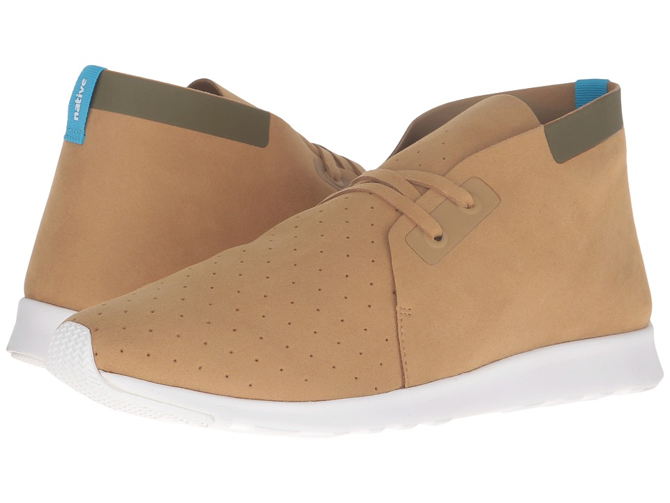 Native Shoes - Apollo Chukka (Tomb Brown/Rookie Green/Shell White/Shell Rubber) Shoes
