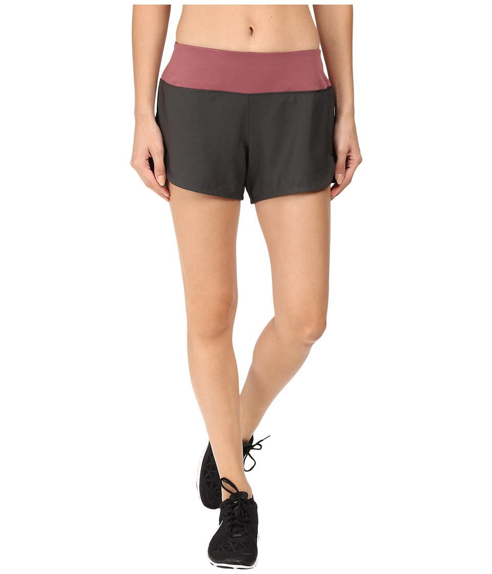 The North Face - Ma-X Shorts (TNF Dark Grey Heather/Renaissance Rose) Women's Shorts