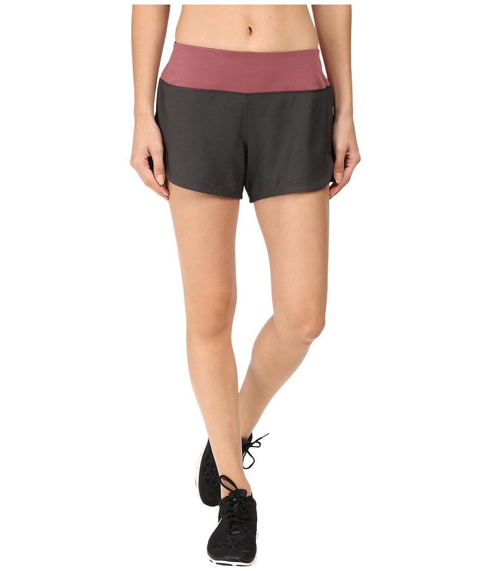 The North Face - Ma-X Shorts (TNF Dark Grey Heather/Renaissance Rose) Women's Shorts