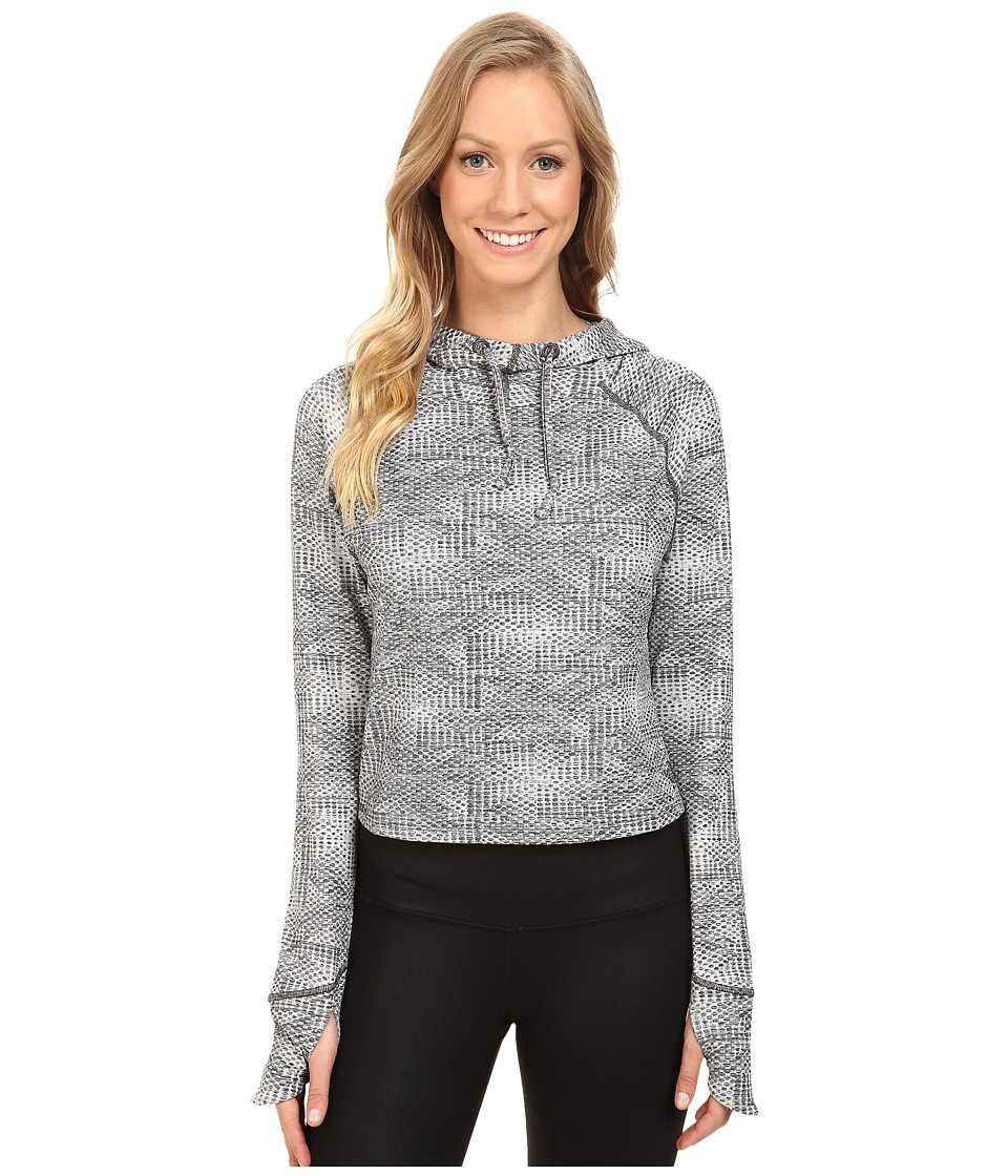 The North Face - Motivation Hoodie (Asphalt Grey Jacquard) Women's Sweatshirt