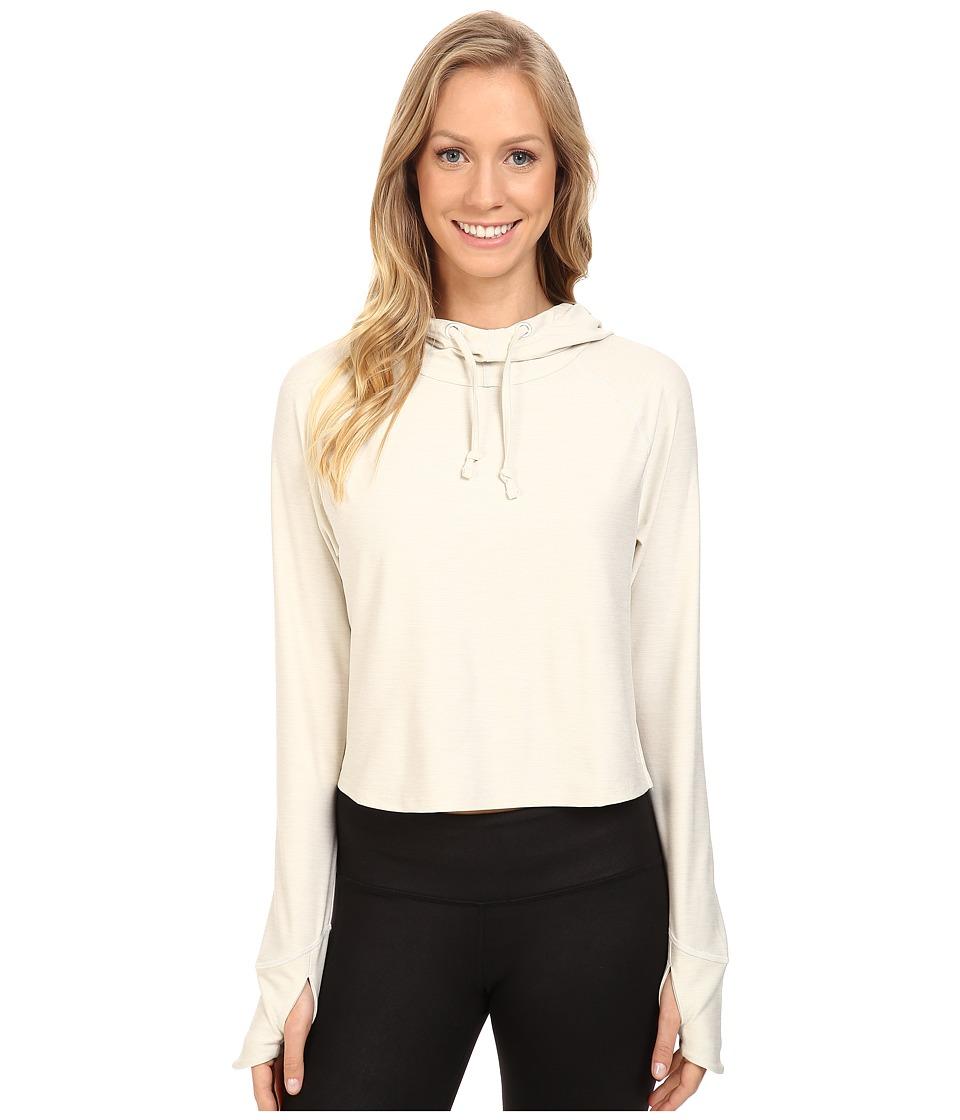 The North Face - Motivation Hoodie (Moonlight Ivory Heather) Women's Sweatshirt