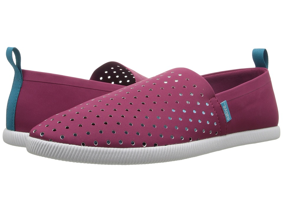 Native Shoes - Venice (Raspberry Red/Riptide Blue/Shell White) Shoes