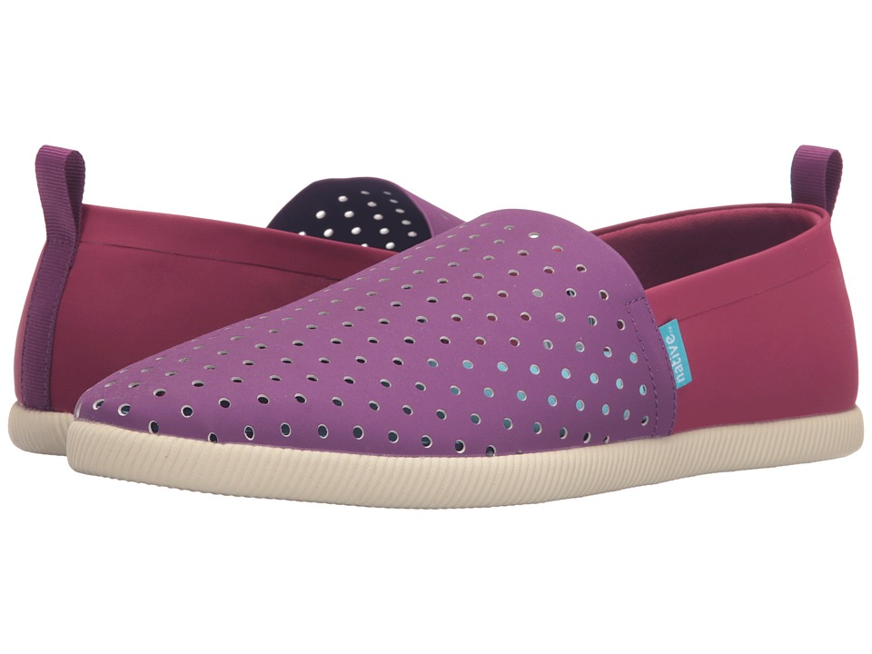 Native Shoes - Venice (Grape Purple/Light Grape Purple/Bone White/Two-Tone) Shoes
