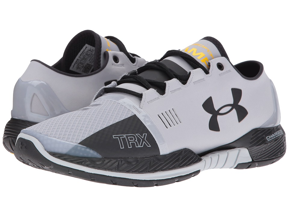 Under Armour - UA Speedform Amp SE (Overcast Gray/Taxi/Black) Men's Cross Training Shoes