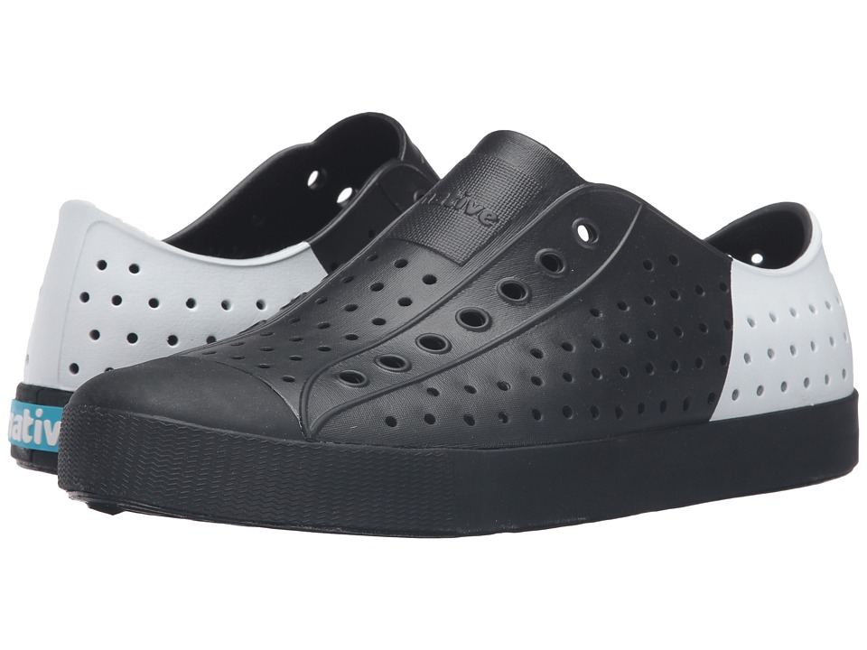 Native Shoes - Jefferson (Jiffy Black/Jiffy Black/Shell Block) Shoes