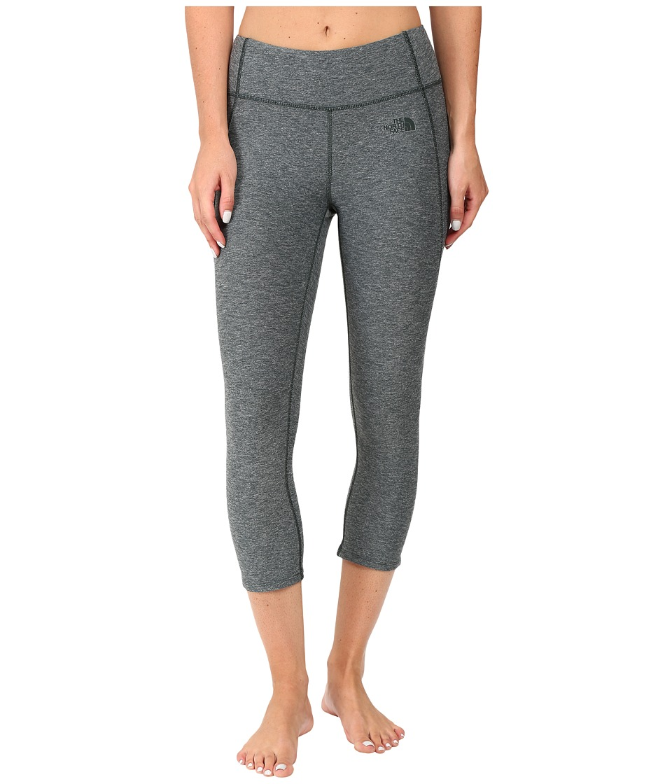 The North Face - Motivation Crop Leggings (Darkest Spruce Heather) Women's Casual Pants