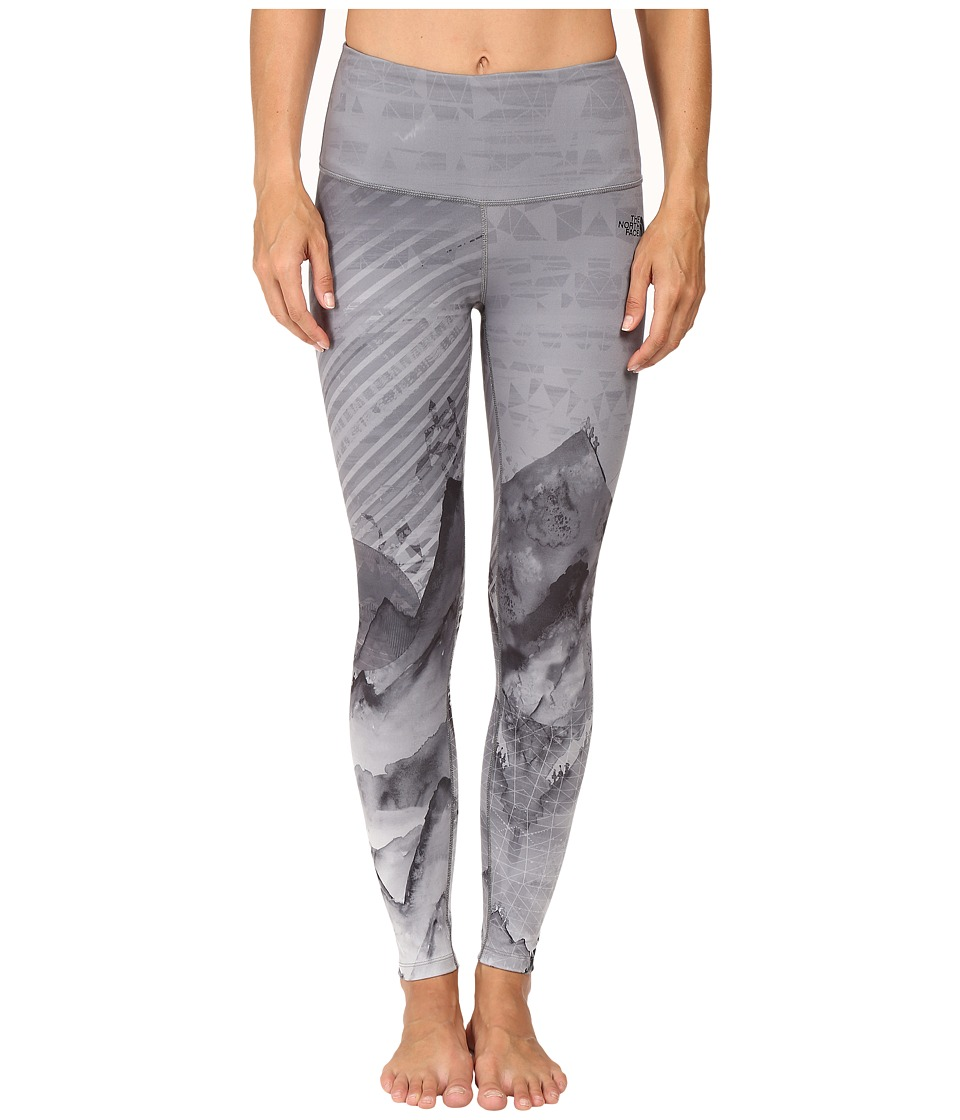 The North Face - Super Waisted Printed Leggings (TNF Black Mountain Print) Women's Casual Pants
