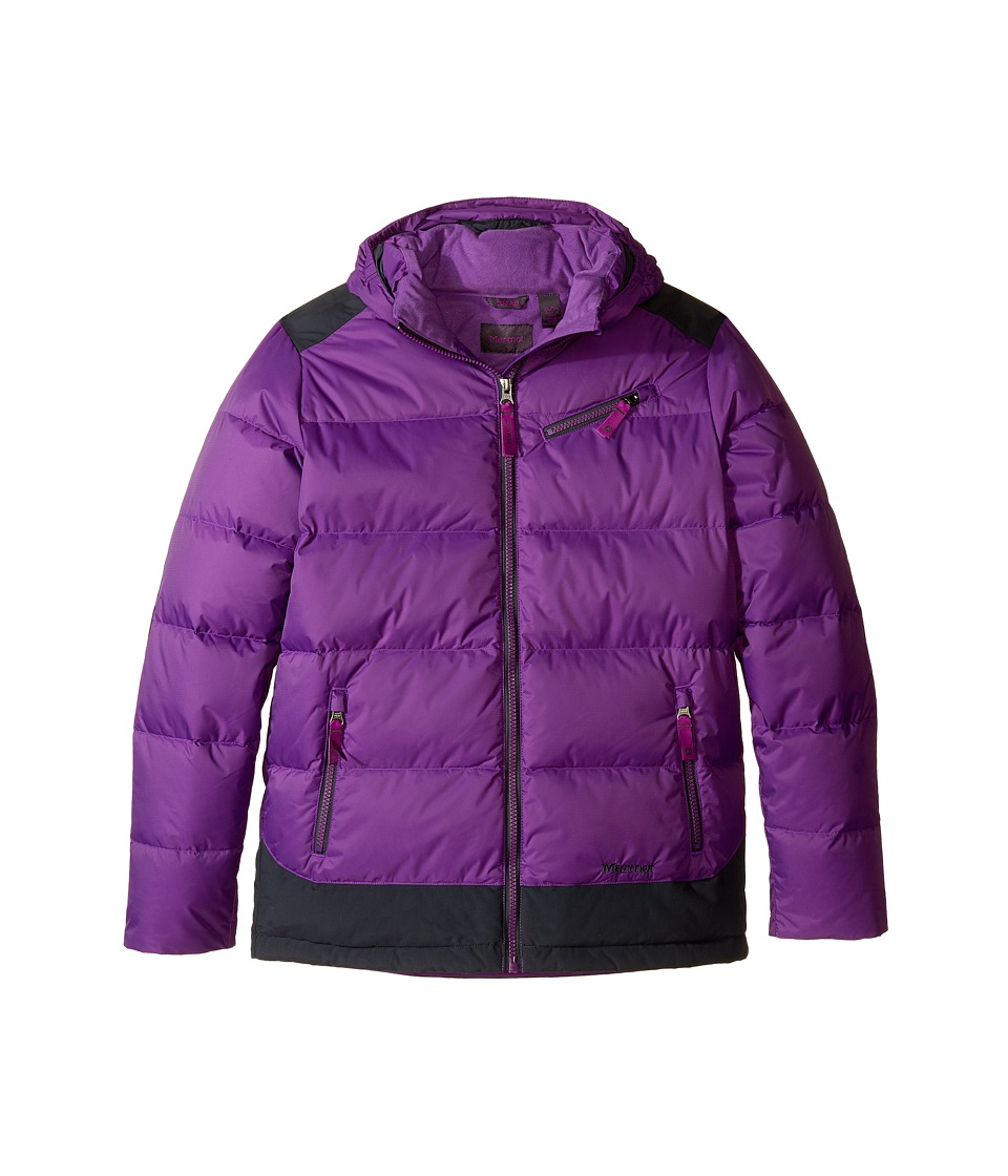 Marmot Kids - Sling Shot Jacket (Little Kids/Big Kids) (Mystic Purple/Dark Steel) Girl's Coat