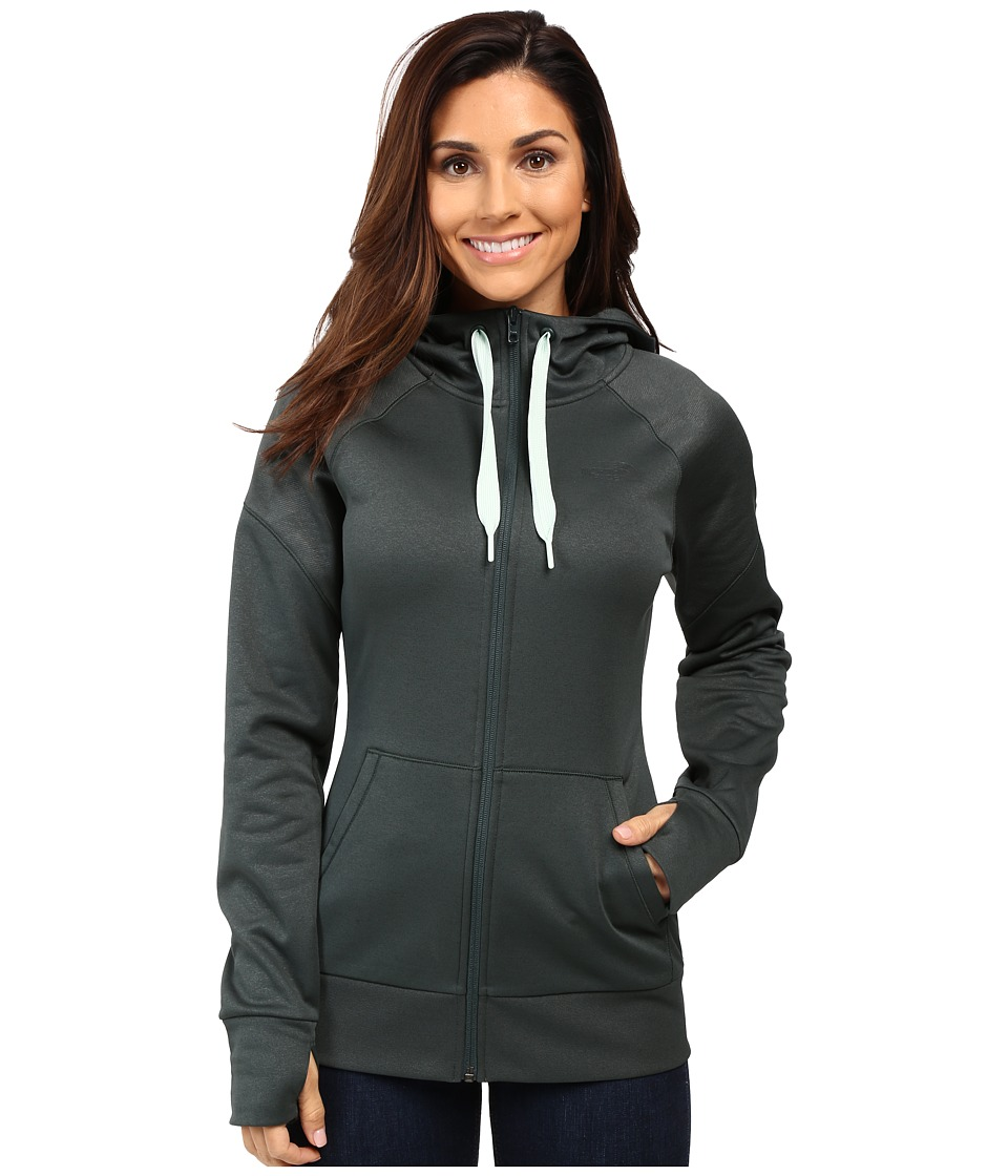 The North Face Suprema Full Zip Hoodie (Darkest Spruce) Women