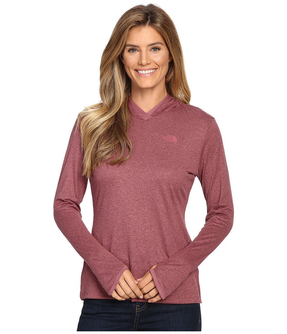 The North Face - Reactor Hoodie (Renaissance Rose Heather/Renaissance Rose) Women's Sweatshirt