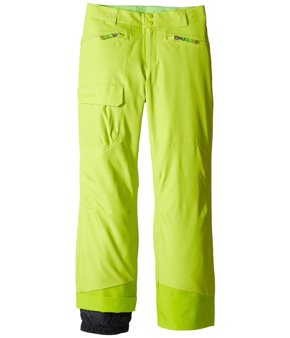Marmot Kids - Girl's Freerider Pant (Little Kids/Big Kids) (Bright Green) Girl's Casual Pants