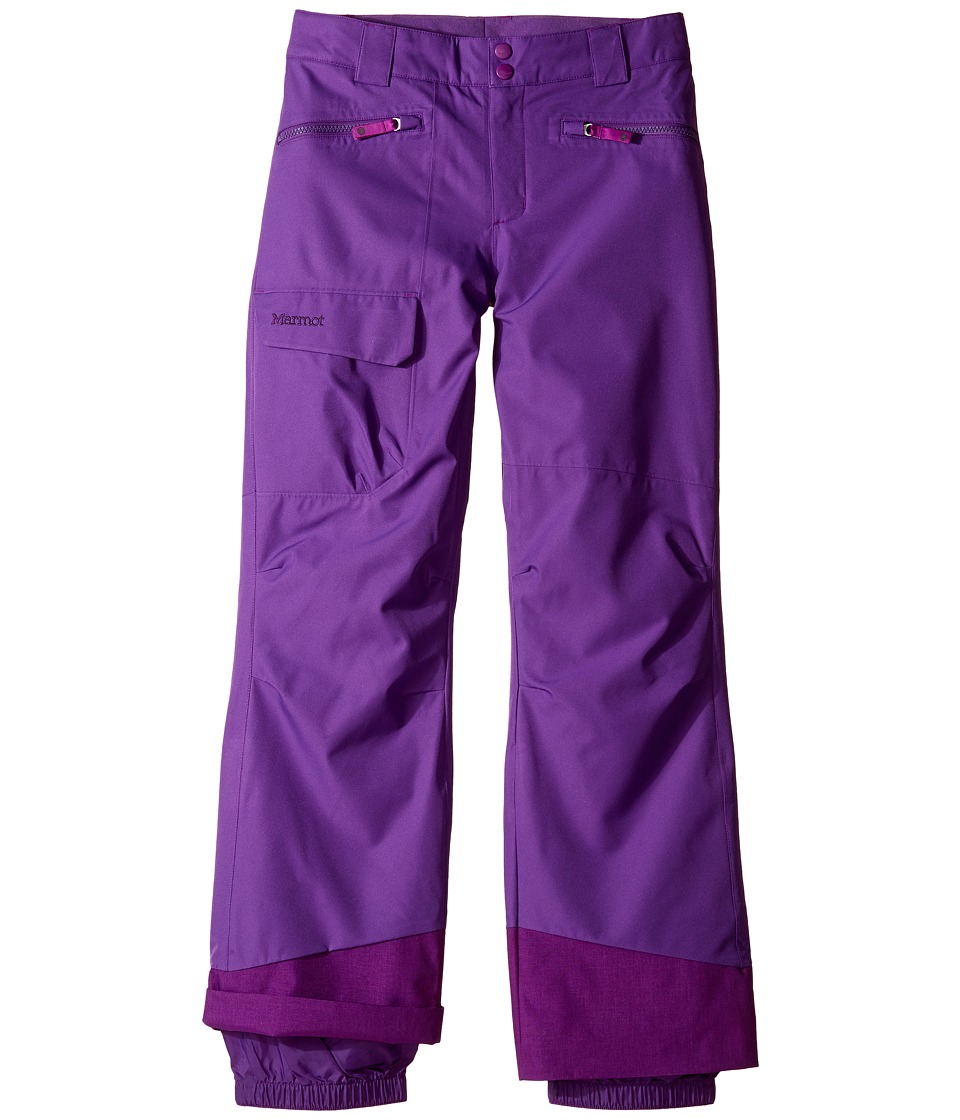 Marmot Kids - Girl's Freerider Pant (Little Kids/Big Kids) (Mystic Purple) Girl's Casual Pants