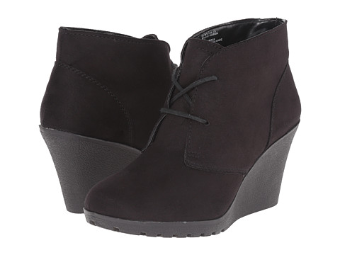 White Mountain - Irma (Black) Women's Lace-up Boots