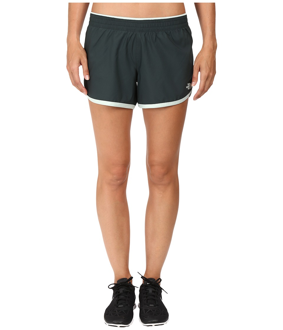 The North Face - Reflex Core Shorts (Darkest Spruce/Subtle Green) Women's Shorts