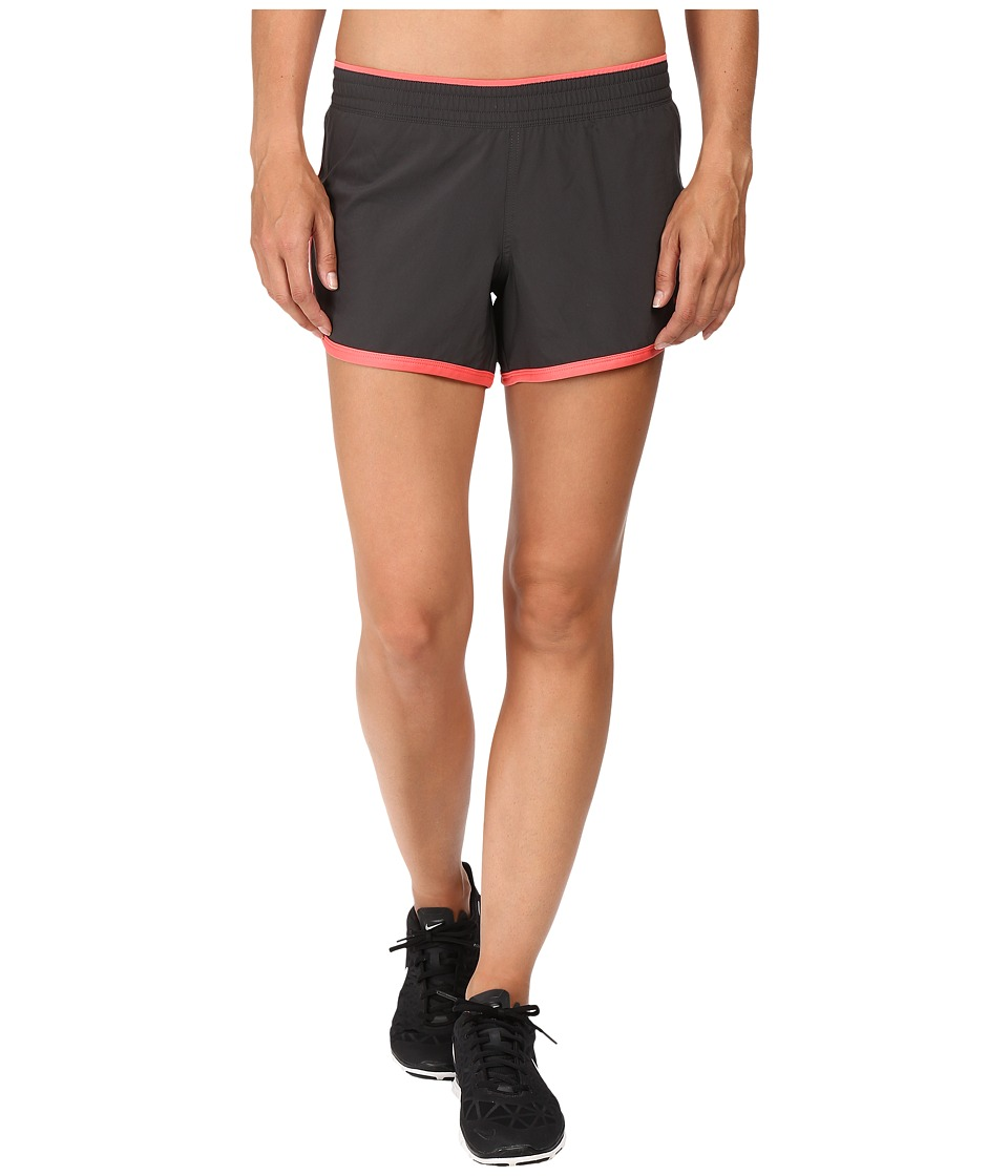 The North Face - Reflex Core Shorts (Asphalt Grey/Calypso Coral) Women's Shorts