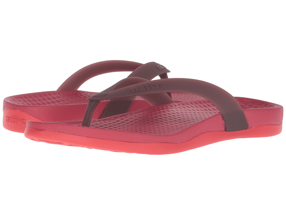 Native Shoes - Paolo (Rover Red/Torch Red) Sandals