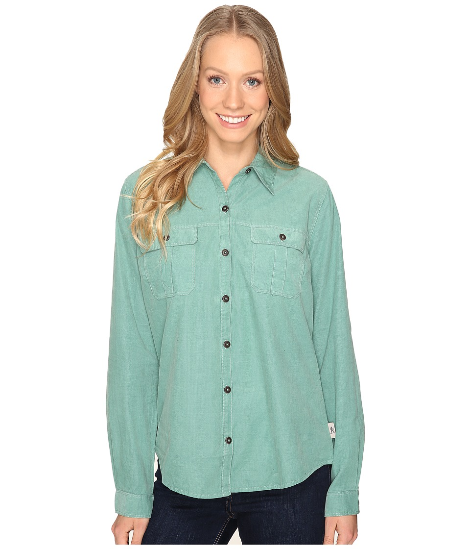 Royal Robbins - Cascade Cord Long Sleeve (Mint) Women's Long Sleeve Button Up