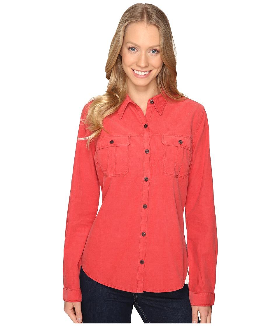 Royal Robbins - Cascade Cord Long Sleeve (Thimbleberry) Women's Long Sleeve Button Up