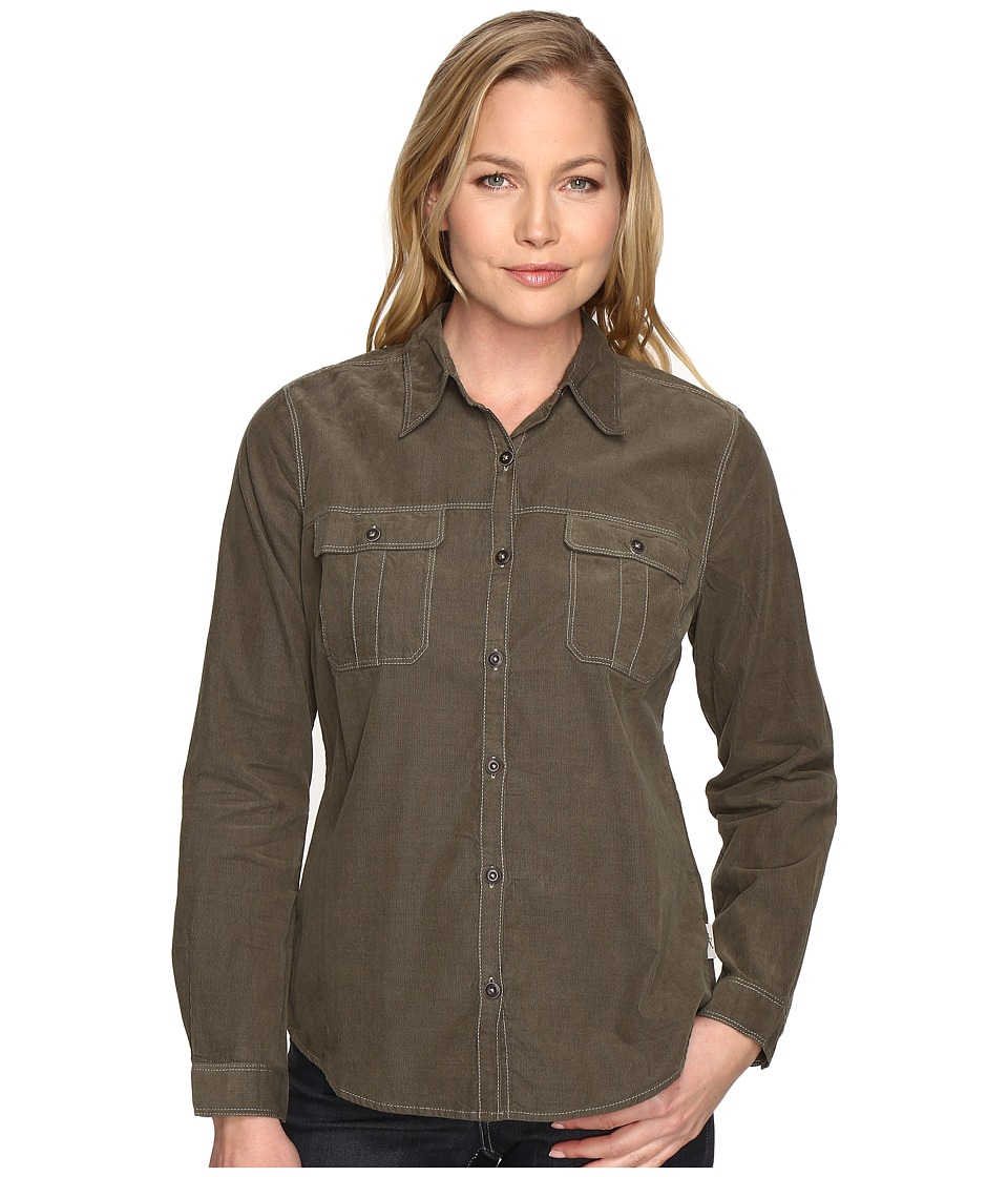 Royal Robbins - Cascade Cord Long Sleeve (Laurel) Women's Long Sleeve Button Up