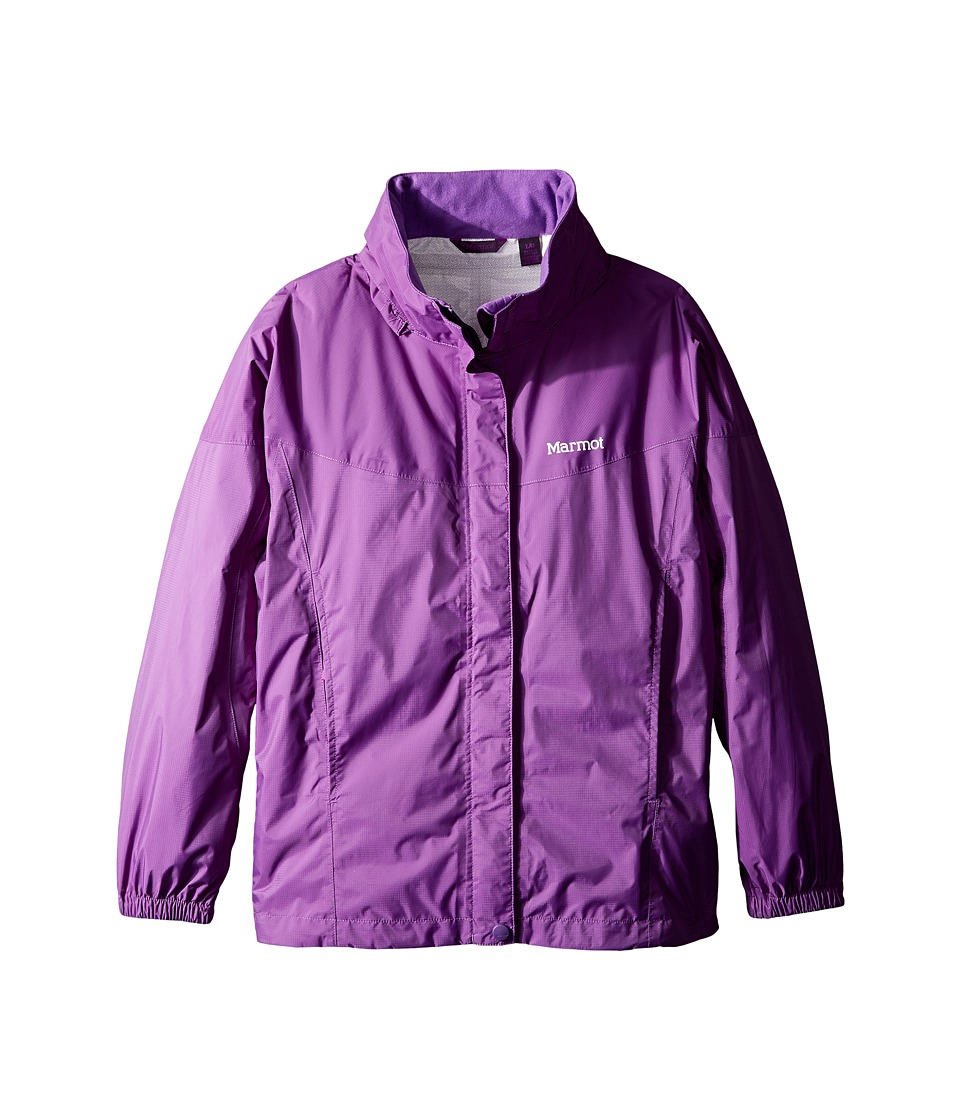 Marmot Kids - Girl's PreCip Jacket (Little Kids/Big Kids) (Mystic Purple) Girl's Coat