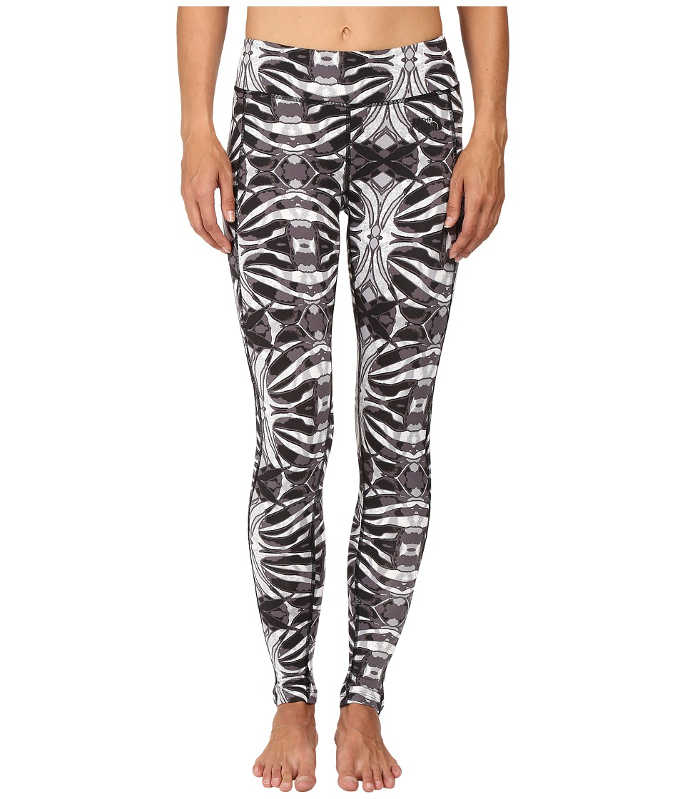 The North Face - Pulse Tight (TNF Black Kaleidoscope Print) Women's Workout