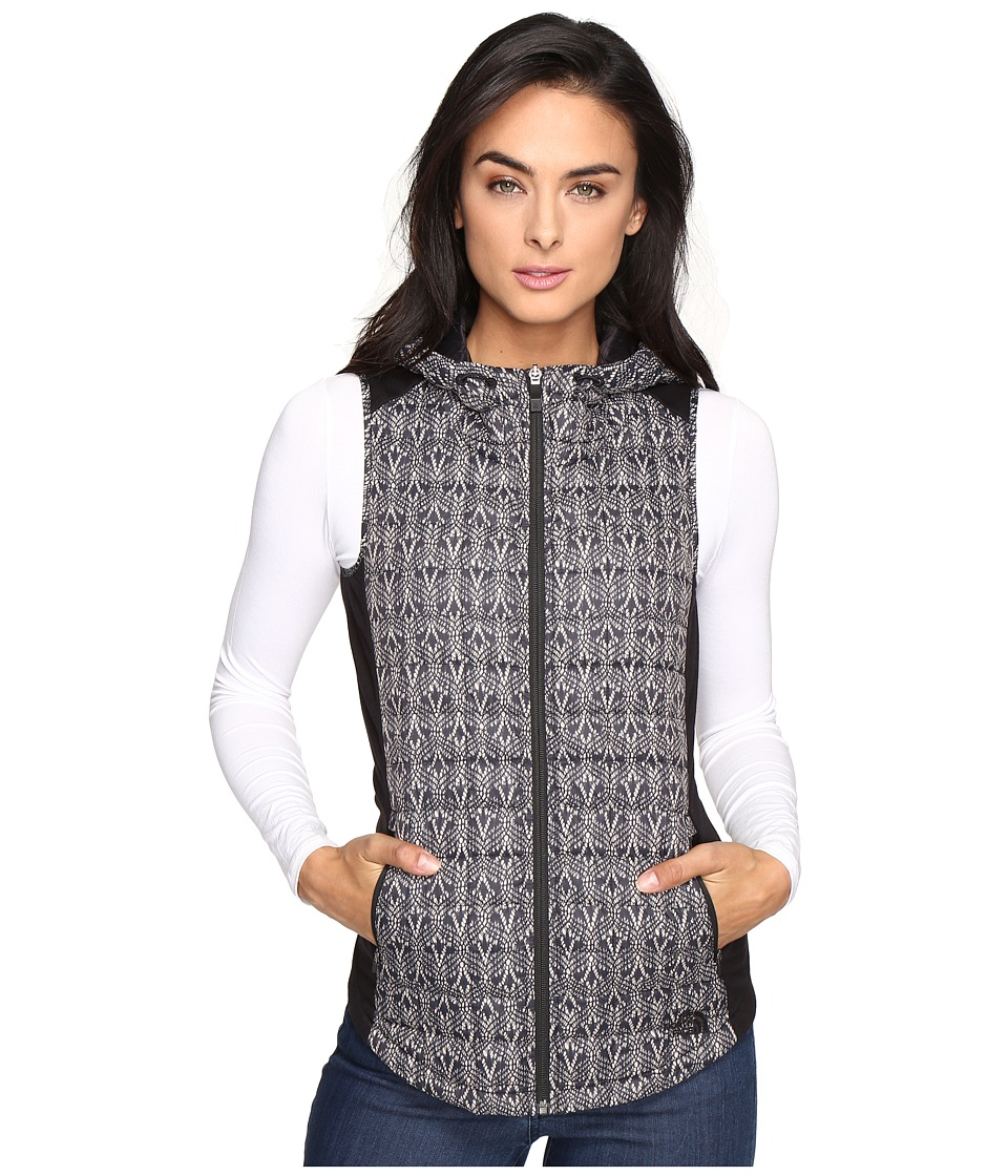 The North Face - MA ThermoBall Vest (TNF Black Lace Print) Women's Vest