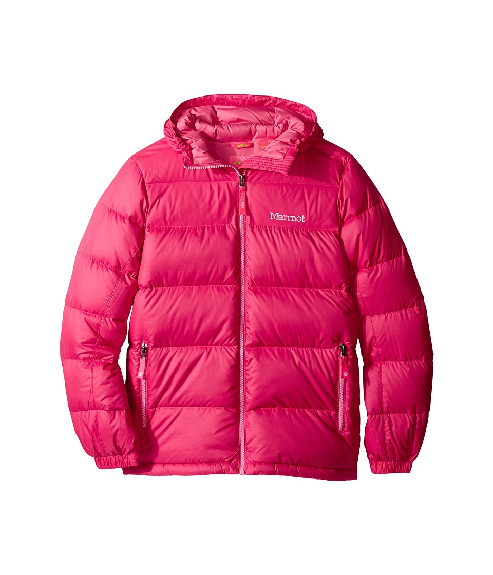 Marmot Kids - Girl's Guides Down Hoody (Little Kids/Big Kids) (Pink Rock) Girl's Coat