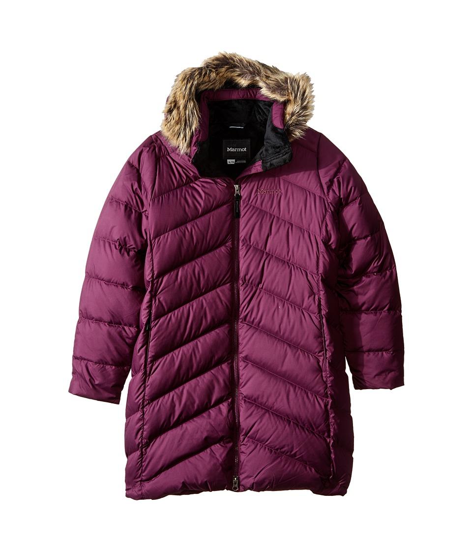 Marmot Kids - Girls' Montreaux Coat (Little Kids/Big Kids) (Dark Purple) Girl's Coat