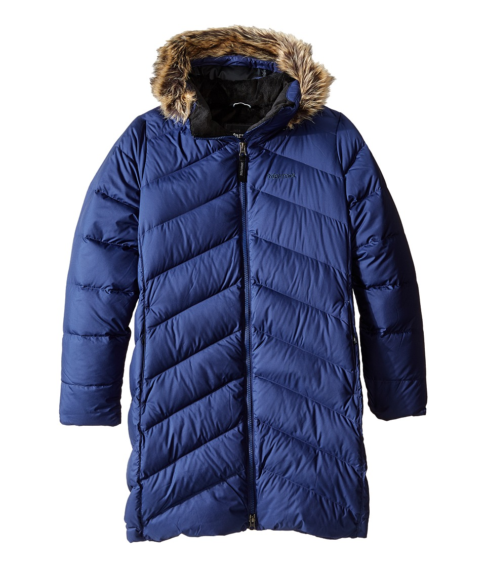Marmot Kids - Girls' Montreaux Coat (Little Kids/Big Kids) (Arctic Navy) Girl's Coat
