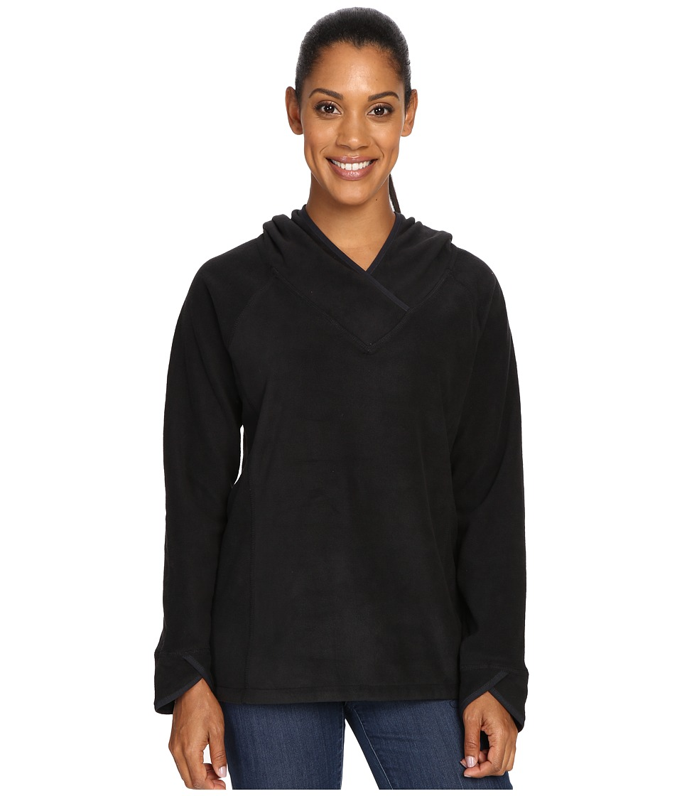 Royal Robbins Foxtail Fleece Hoodie (Jet Black) Women