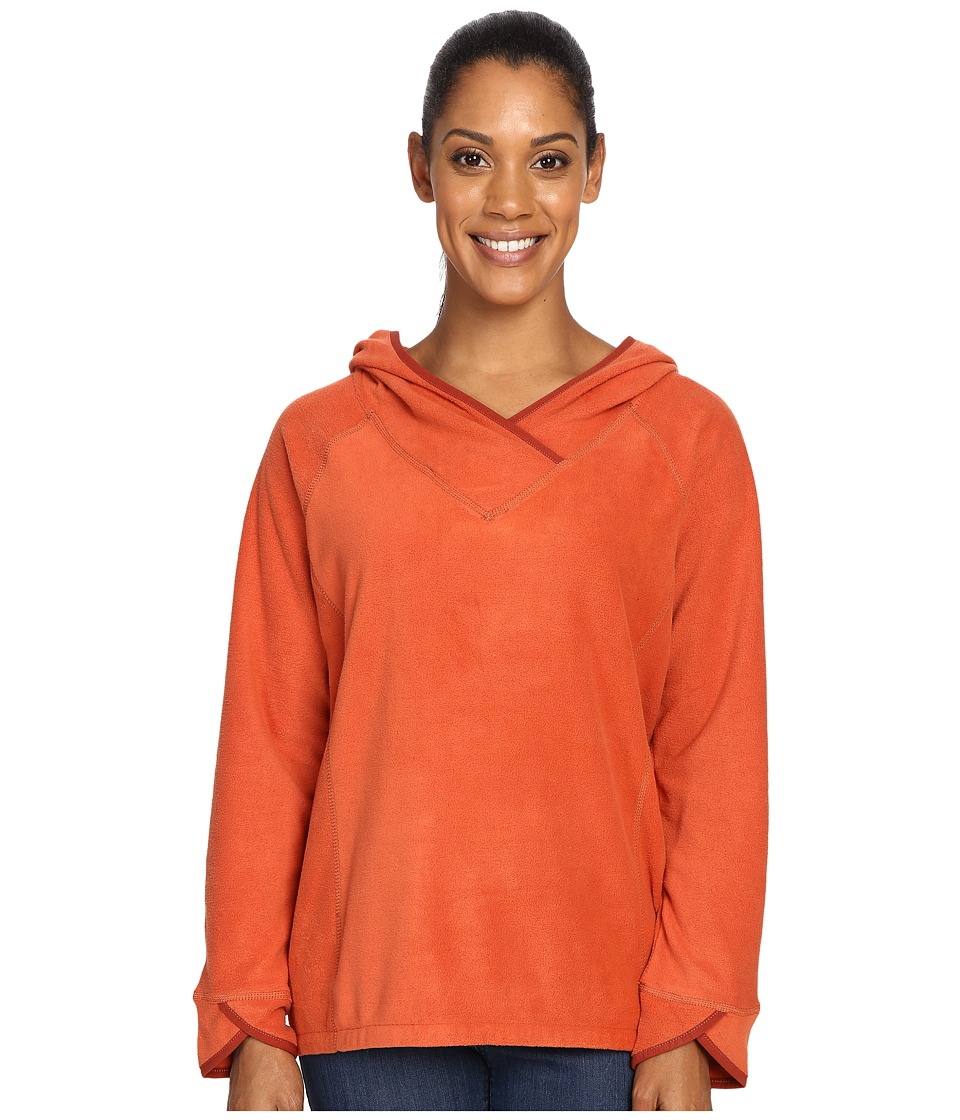 Royal Robbins Foxtail Fleece Hoodie (Canyon Clay) Women