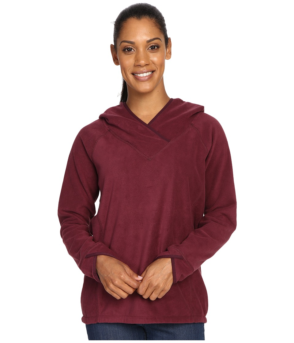 Royal Robbins Foxtail Fleece Hoodie (Beet) Women