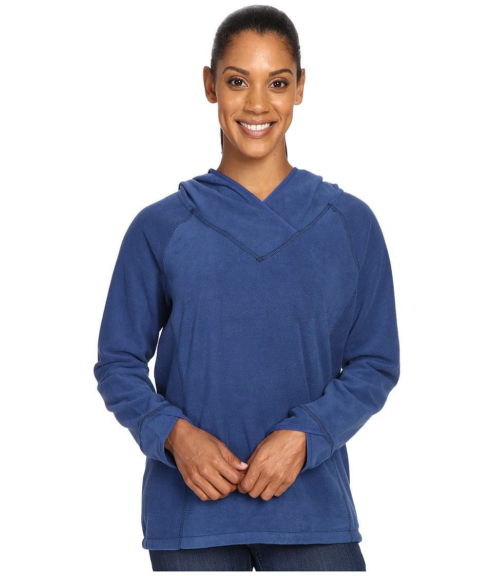 Royal Robbins Foxtail Fleece Hoodie (Twilight Blue) Women