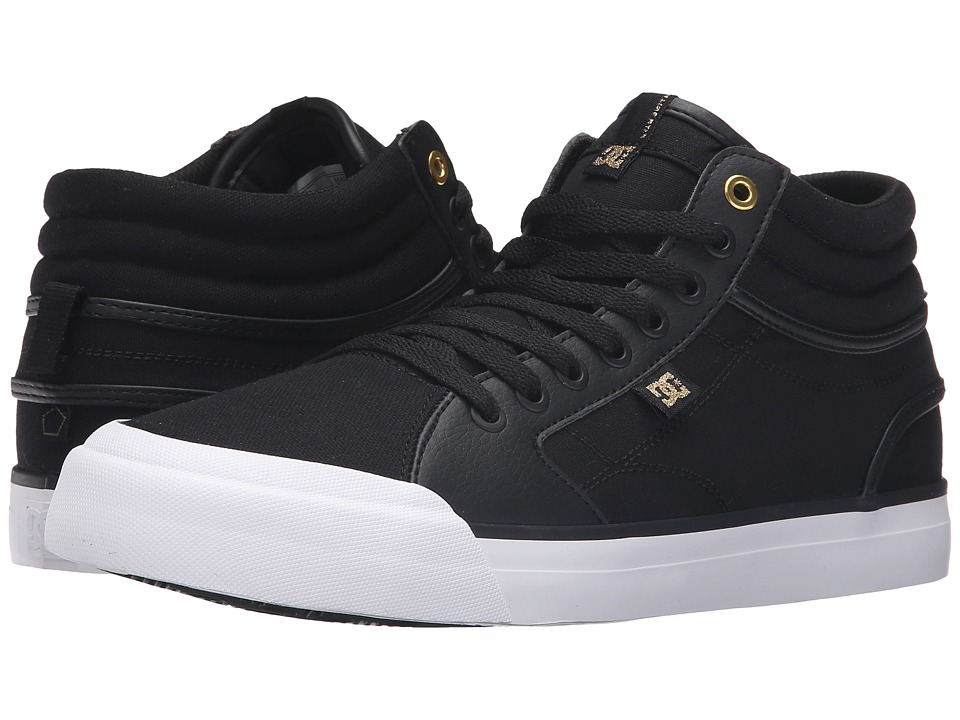 DC Evan Smith Hi (Black/Gold) Men