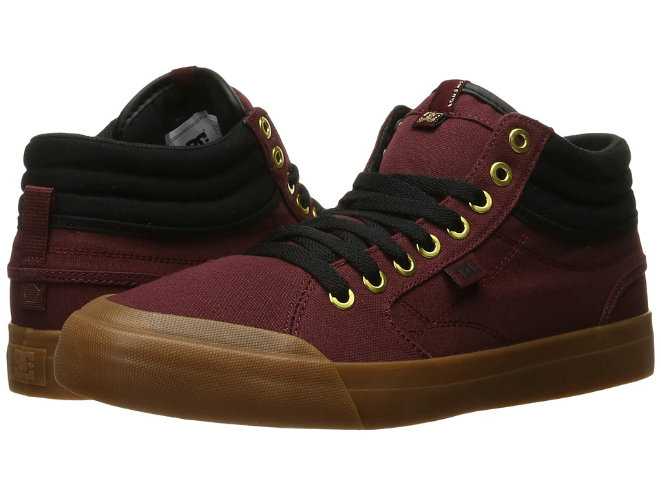 DC Evan Smith Hi (Burgundy) Men