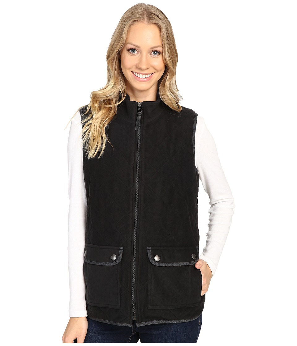 Royal Robbins Foxtail Fleece Vest (Jet Black) Women