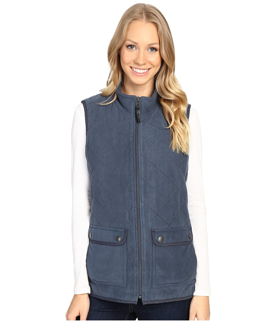 Royal Robbins - Foxtail Fleece Vest (Navy) Women's Vest