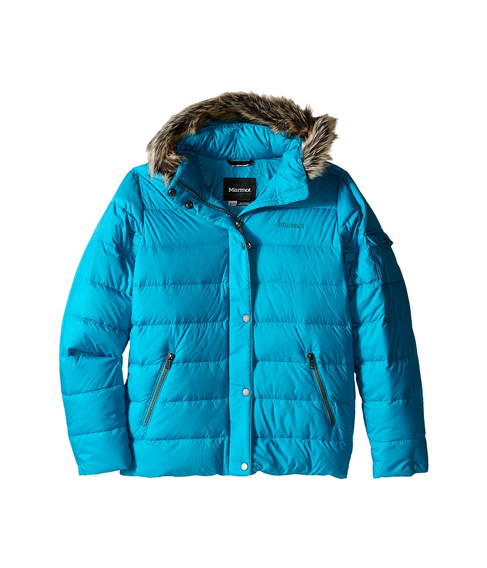 Marmot Kids - Hailey Jacket (Little Kids/Big Kids) (Turquoise) Girl's Coat