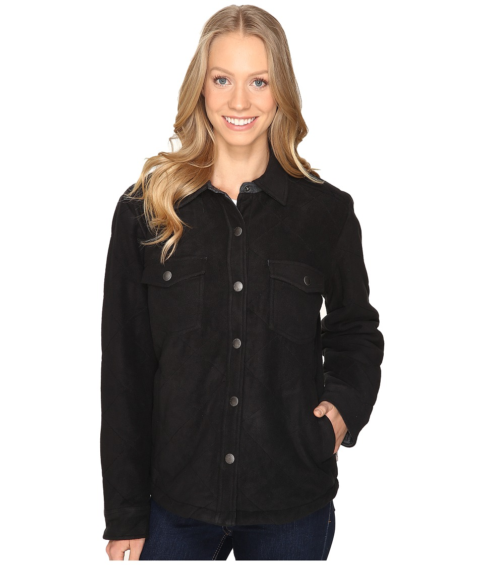 Royal Robbins - Foxtail Fleece Shirt Jack (Jet Black) Women's Fleece